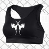 FIGHTERS - Damen Sport Top BH / Schwarz