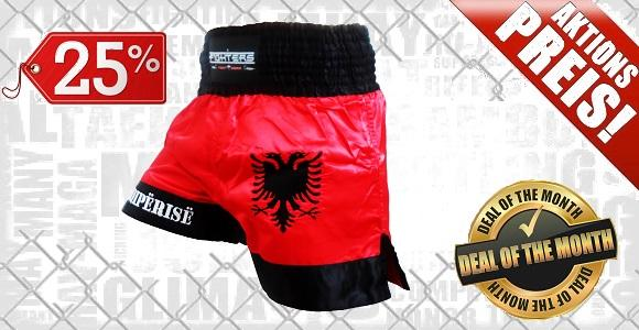 FIGHTERS - Muay Thai Shorts / Albanien