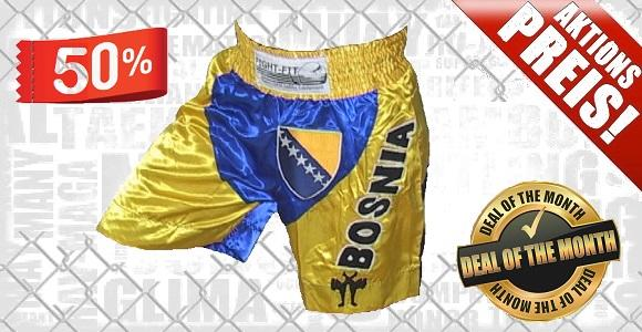 FIGHTERS - Muay Thai Shorts / Bosnien