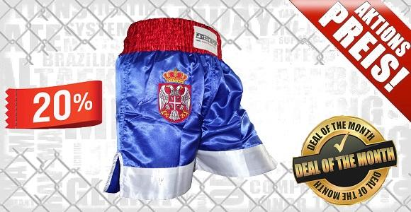 FIGHTERS - Muay Thai Shorts / Serbien